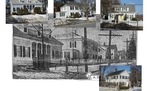 344 - 354 North Main Street - then and now