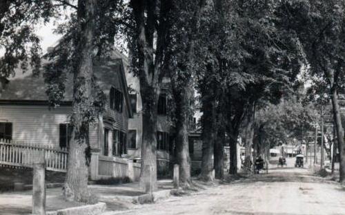 Essex Street detail 35 Essex St on left circa 1910