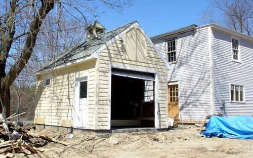 Shorten garage saved