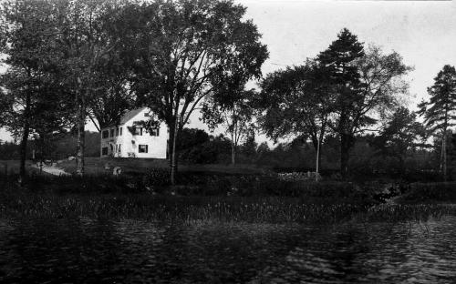 Haggett - Chase house circa 1900 east view