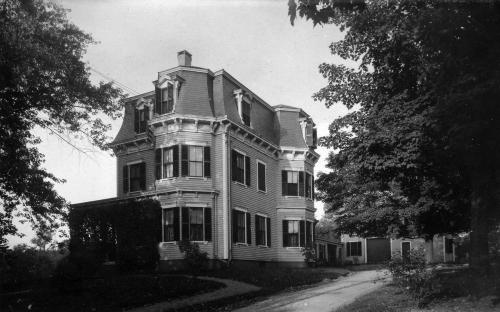 37 Maple Ave as built - c. 1900