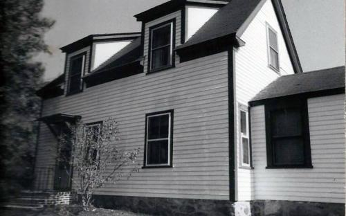 Early 20th century addition to Boutwell house - 1990