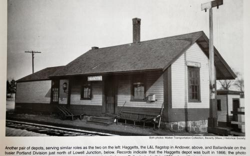 Haggetts Station in 1916