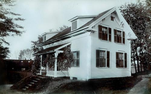 """Gardner's Cottage 1895 on """"Arden Estate"""""""