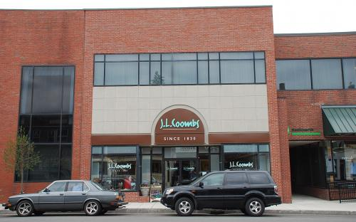J. L. Coombs Co. shoe store (2009-2012)