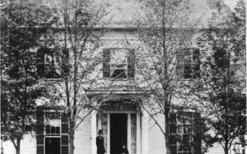 48 Central St. Ripley House circa 1880