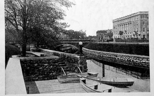 Boat dock and ramp 1922