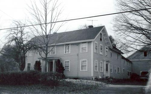 51 Red Spring Rd. 1977, then painted yellow and white