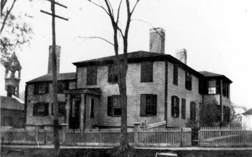 Former Richardson House at 54 Main, razed 1906