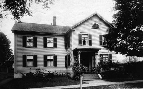 6 Chestnut St. circa 1900