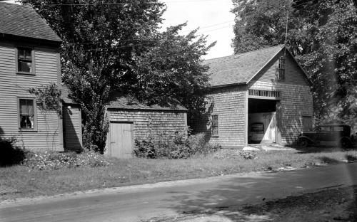 East barn at 61 Porter Rd. circa 1920