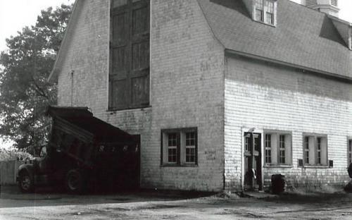 NE corner of barn 1988