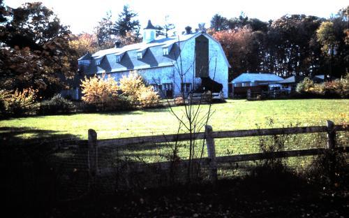 Shawsheen Stock Farm barn - 1988