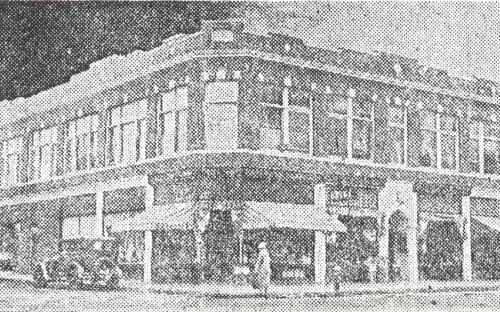 K & D Block 1924 - Lawrence Telegram