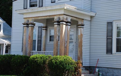 7-9 Buxton Ct. - Porch detail