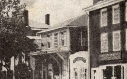 Circa 1872 detail  after facade renovation