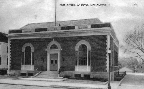 Andover Post Office circa 1932