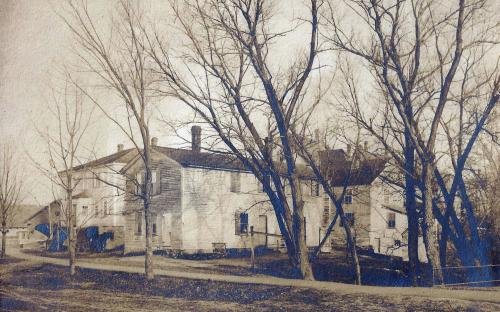 Newman House and ell as house circa 1890