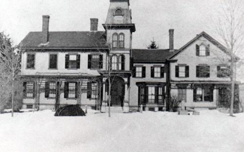 Moses Foster Mansion circa 1895