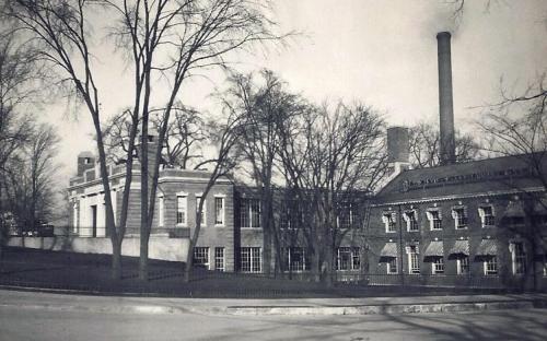 Circa 1925 - Shawsheen Launndry on left