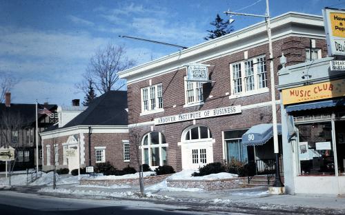Andover Institute of Business circa 1967