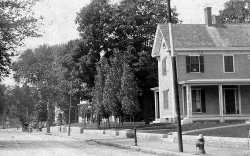 Abbot - Hopkins - Odlin House circa 1900