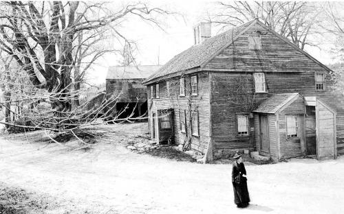 Benjamin Abbott Homestead c. 1900