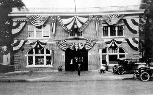 Meyerscough & Buchan Garage 1919