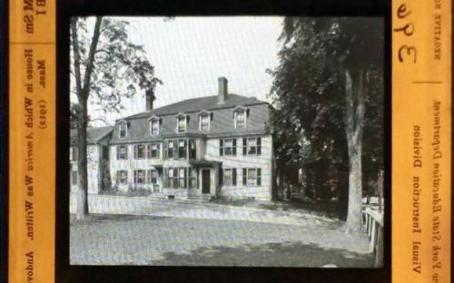 America House - 1912 Lantern Slide
