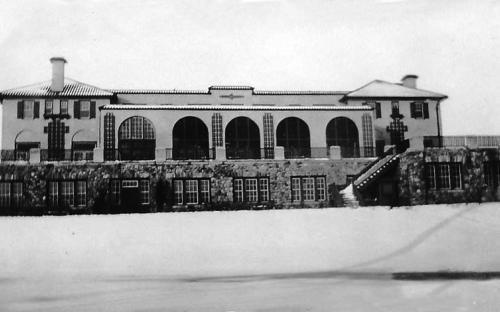 Andover Country Club 1926 - west facade