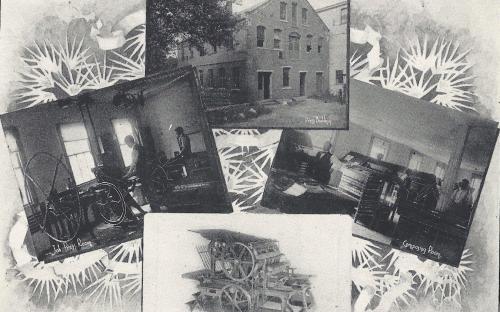 Andover Press Building 1896