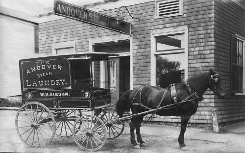 Andover Steam Laundry - circa 1910