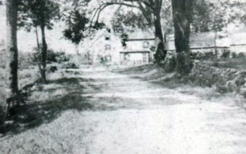 Argilla Rd. before the direction change in 1930's