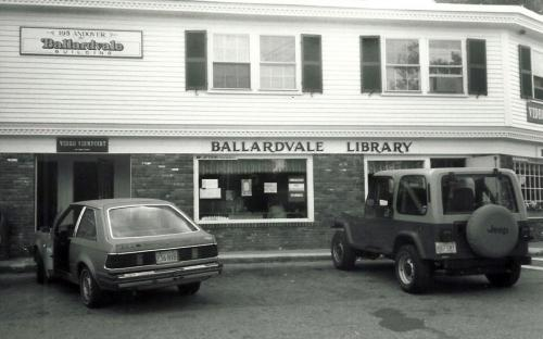 Library branch 1991