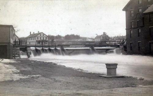 Ballardvale Dam, Shawsheen River c. 1900