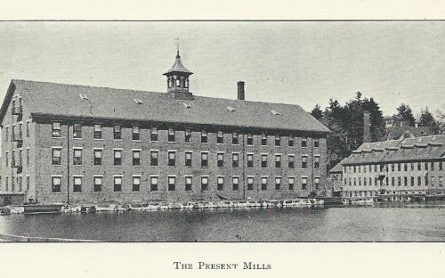 Bradlee Mills complex 1896