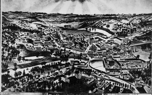 Birdseye View of Ballardvale 1885