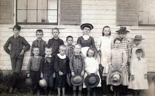 Bailey District School cicra 1880's