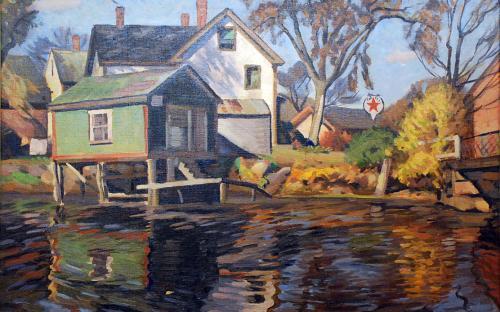 Ballardvale 1934 by Howard Ames Coon