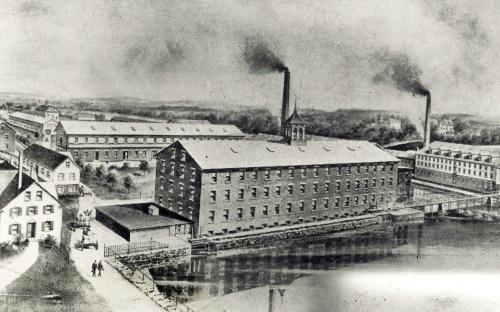 Ballard Vale Mills - circa 1890