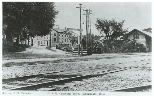 Ballardvale Crossing circa 1900