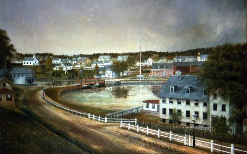 Ballardvale in 1881 by Bancroft T. Haynes