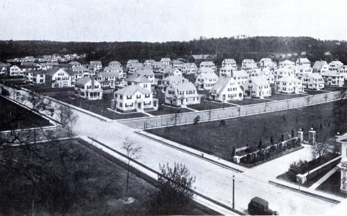 Shawsheen Village White Houses 1925