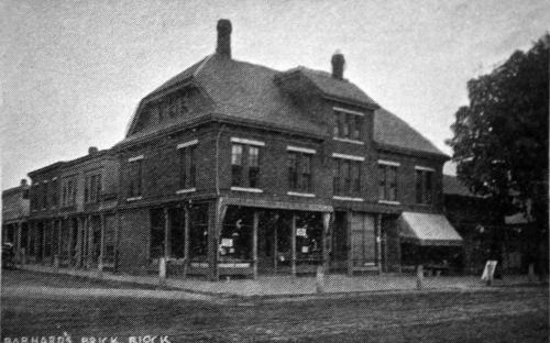 Barnard Brick Block 1891 - Glimpses of Andover