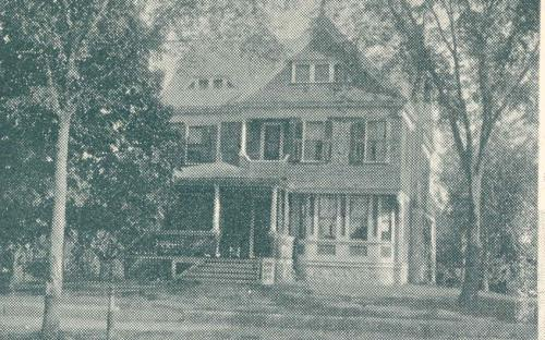 C. A. Booth house - Glimpses of Andover 1896
