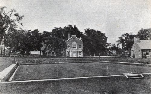Shawsheen Laundry & Bowling Green - circa 1922