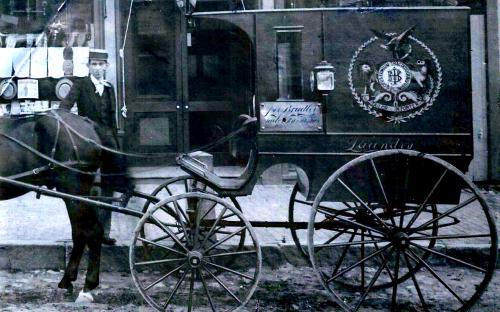 Joseph Bradley store delivery wagon cir. 1894