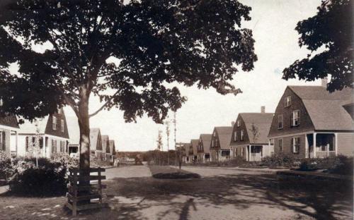 Brechin Terrace facing east - 1908