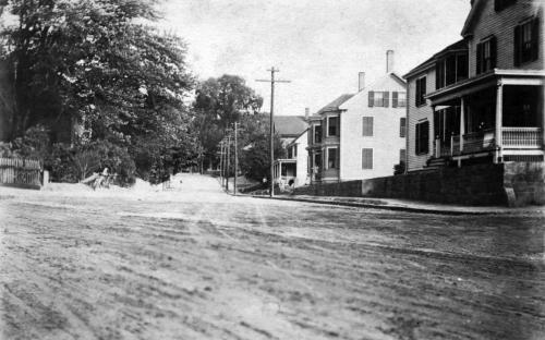 Corner of Brook & Ridge Street