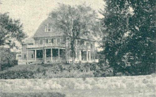 1896 Glimses of Andover - Byers House
